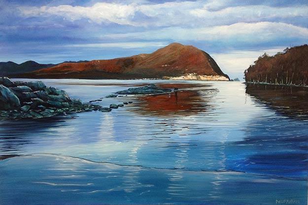 Philip-Murrell_Morning-Light-Port-Davey_AonC_2013