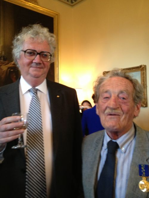 Justice Blow and Lloyd Blazely OAM