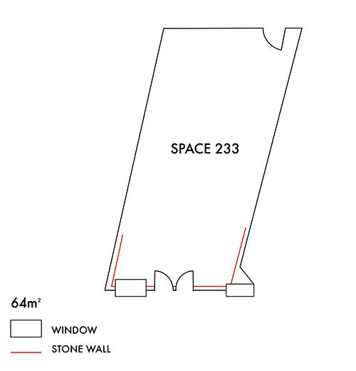 Space 233 floorplan
