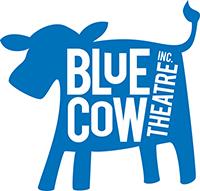 BLUE COW LOGO
